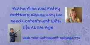 Contentment with life as we age