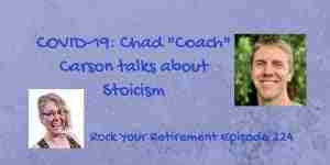 COVID-19: Chad Carson talks about Stoicism